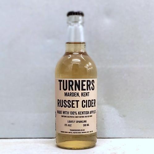 Turner's Russet Cider 500ml