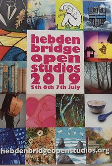 2019 Hebden Bridge Open Studios Poster 2