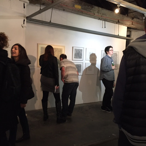 3rd Floor Studios and Galery Drawing Exhibition