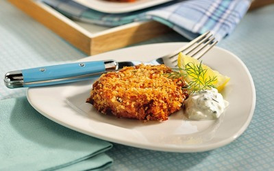 Weight Loss Recipe: Tuna Patties with Lemon Dill Sauce