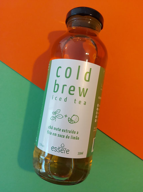 Caixa com 12 Cold Brew Iced Tea Limão 330ml