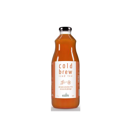 Chá mate com pêssego 1L