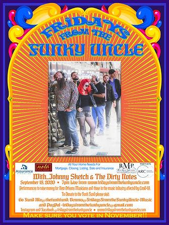 Johnny Sketch & The Dirty Notes FFFU POS