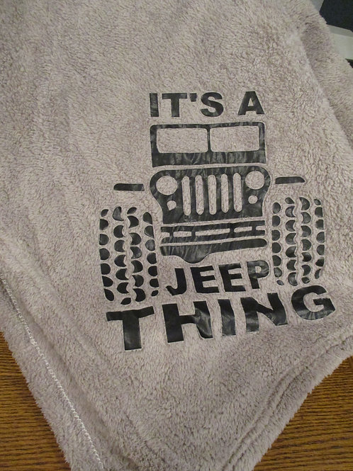#12 Its a jeep thing blanket