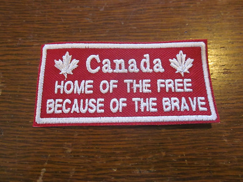 Canada.. home of the free patch