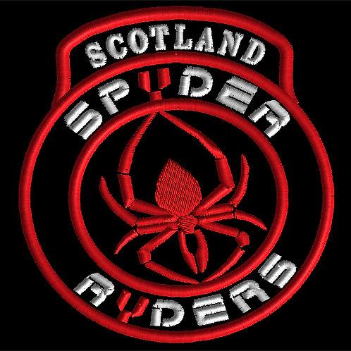 """SCOTLAND SPYDER RYDER CREST/INSECT/ 4""""/6""""/10"""""""