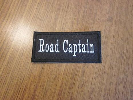 """ROAD CAPTAIN PATCHES 3.5 x 1.5"""""""