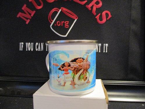 #944 Mulan tin mug