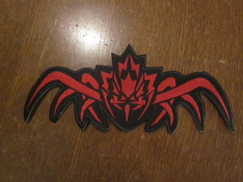 spider/maple leaf patch    10 x 4.15""