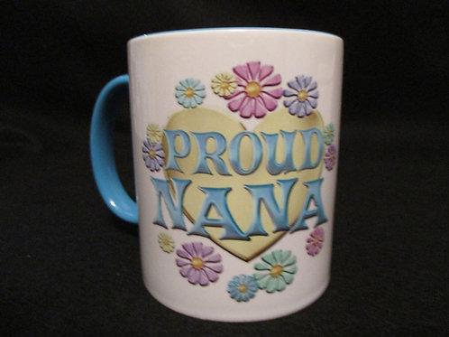 #18  proud nana mug