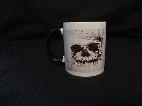 #4 skull mug