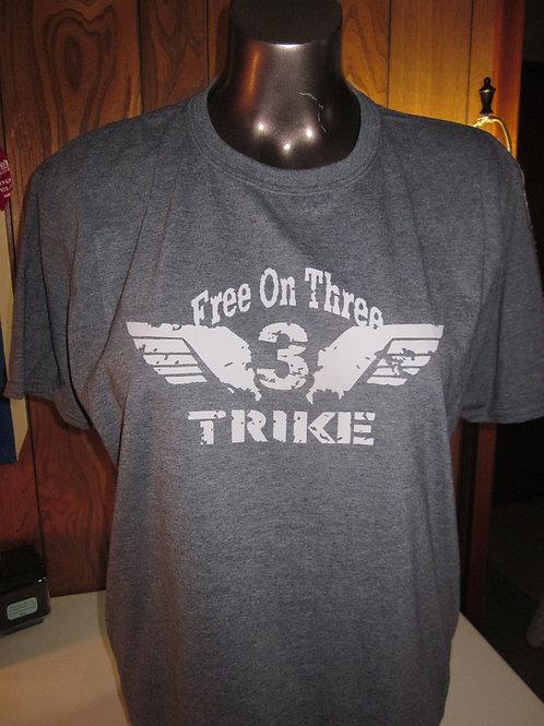 #78 Free on three trike shirt