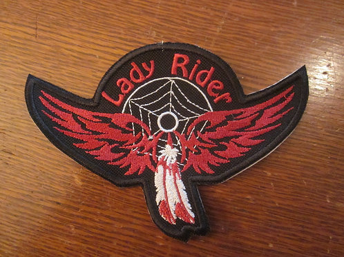 Lady Rider/dreamcatcher/feather wings