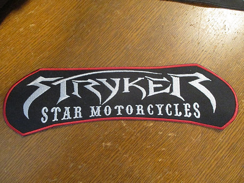 STRYKER STAR MOTORCYCLES PATCH