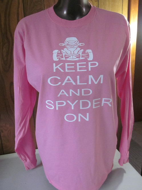 #62 Stay Calm and Spyder On shirt