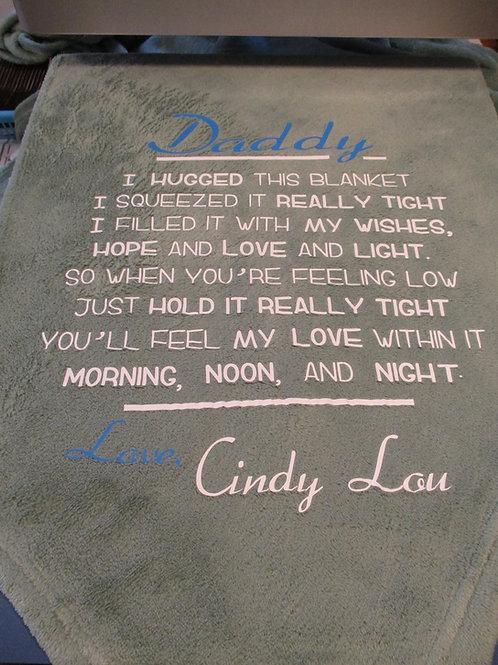 #6 Daddy Blanket