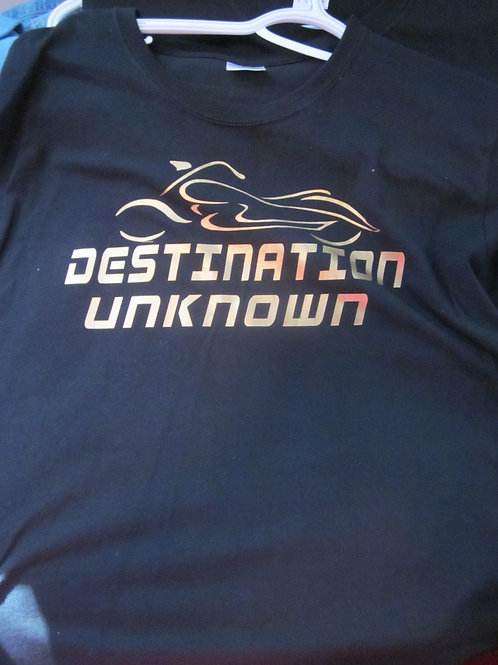 DESTINATION UNKNOWN TEE ... SALE SHIRT