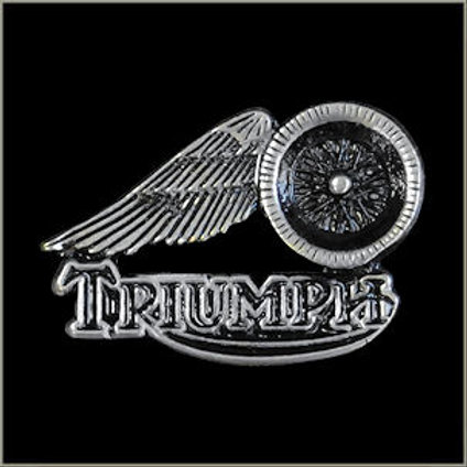 #2 triumph winged  pin