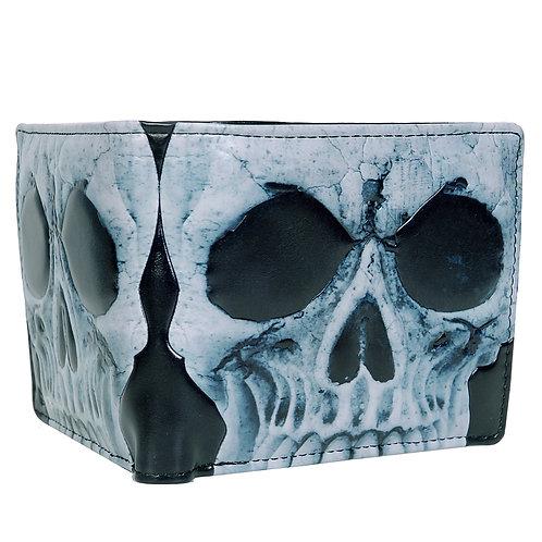 #507 skull mens wallet