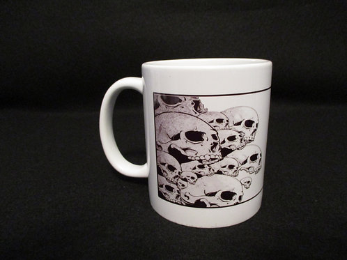 #124 why bikers use skulls mug