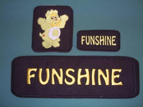 FUNSHINE VEST PATCH SAMPLE