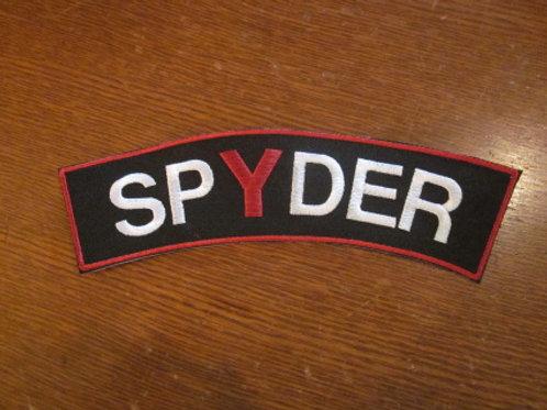 """SPYDER BANNER  3 X 9"""""""