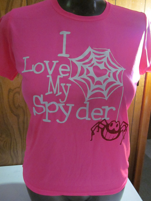 #10 gals I love my spyder tee