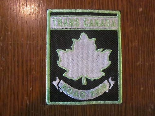 "Trans Canada road trip patch  2.5 x 3.75"""