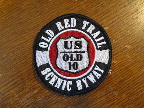 OLD RED TRAIL US OLD 10 PATCH