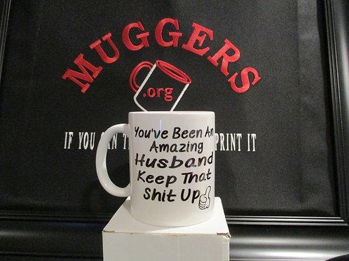 #907 you've been an amazing husband mug