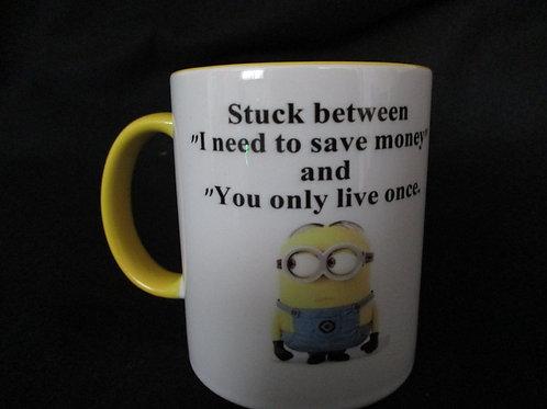 #273 minion stuck between...mug