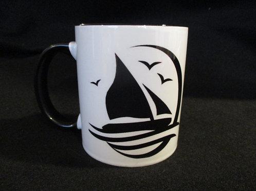 #183 I rather be sailing mug