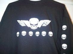 #44 winged skull/mini skulls