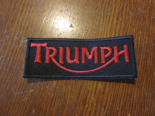 Triumph logo  PATCH
