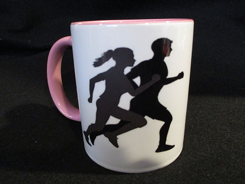 #181 I rather be running mug