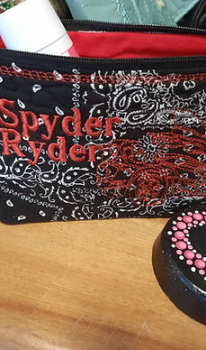 #20 quilted spyder ryder pouch