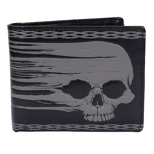 #506 skull mens wallet