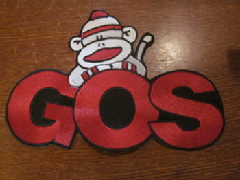 GOS MONKEY PATCH  6 X 4""