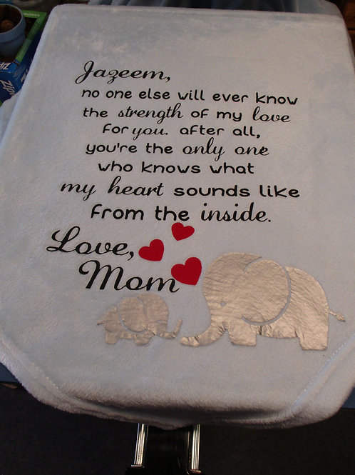 #2 Child blanket from Mom