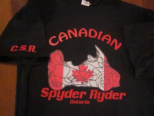 #22 Canadian flag rt spyder ryders