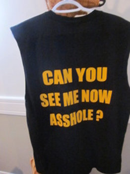 CAN YOU SEE ME KNOW ASSHOLE?  SHIRT