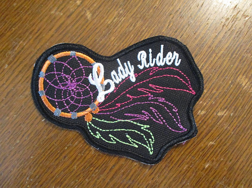 #5 Lady rider dream catcher patch