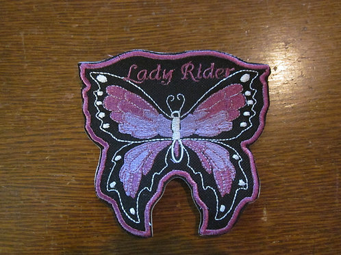 """Butterfly purple patch lady rider  4.25 x 3.75"""""""
