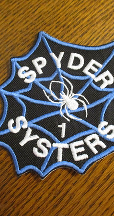Spyder Systers Patch without member number