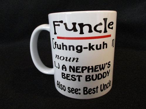 #168 Funcle mug