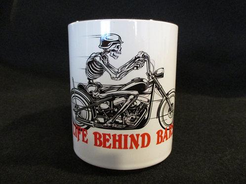 #267 Life behind bars mug