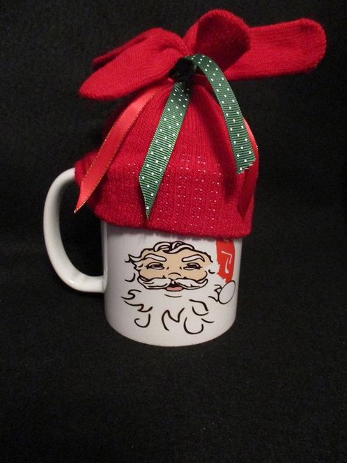 #145 santa hat mug