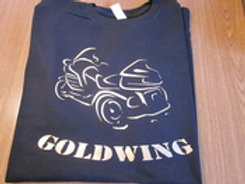 goldwing outline trike tee