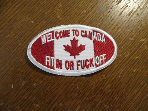 Welcome to Canada ... fit in or....