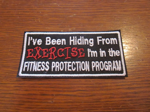 I'VE BEEN HIDING FROM EXERCISE.... PATCH